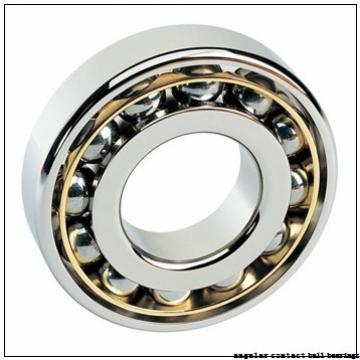 95 mm x 170 mm x 32 mm  NSK QJ219 angular contact ball bearings