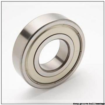 80 mm x 125 mm x 22 mm  NACHI 6016 deep groove ball bearings