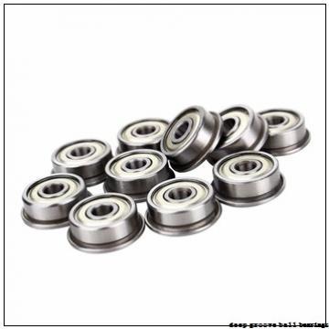 6 mm x 19 mm x 9,8 mm  Timken 36KTD deep groove ball bearings