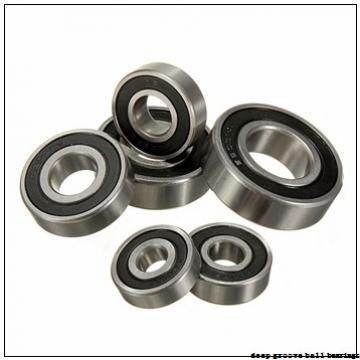 6 mm x 19 mm x 9,8 mm  Timken 36KL deep groove ball bearings