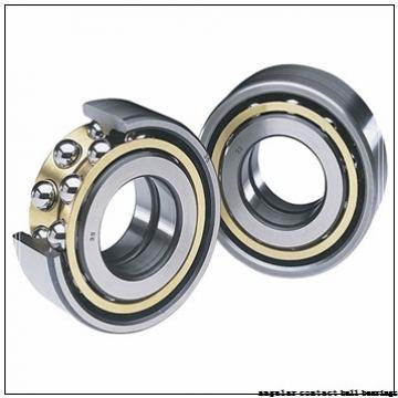 100 mm x 215 mm x 47 mm  SKF QJ320N2MA angular contact ball bearings