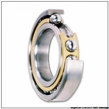 90 mm x 190 mm x 43 mm  NACHI 7318BDB angular contact ball bearings