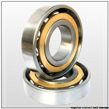 70 mm x 125 mm x 24 mm  SKF 7214BECBP angular contact ball bearings