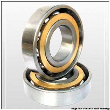 85 mm x 150 mm x 49,2 mm  NKE 3217 angular contact ball bearings