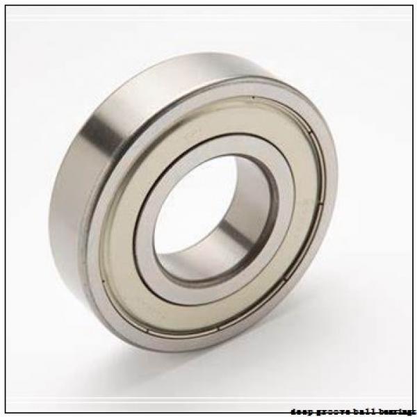 12,7 mm x 47 mm x 43,5 mm  SNR EX201-08 deep groove ball bearings #1 image