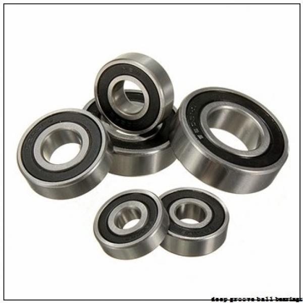 4,762 mm x 9,525 mm x 3,175 mm  NTN FLRA166Z deep groove ball bearings #1 image