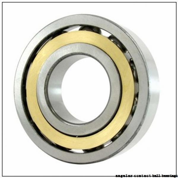 20 mm x 42 mm x 12 mm  FAG B7004-E-T-P4S angular contact ball bearings #1 image
