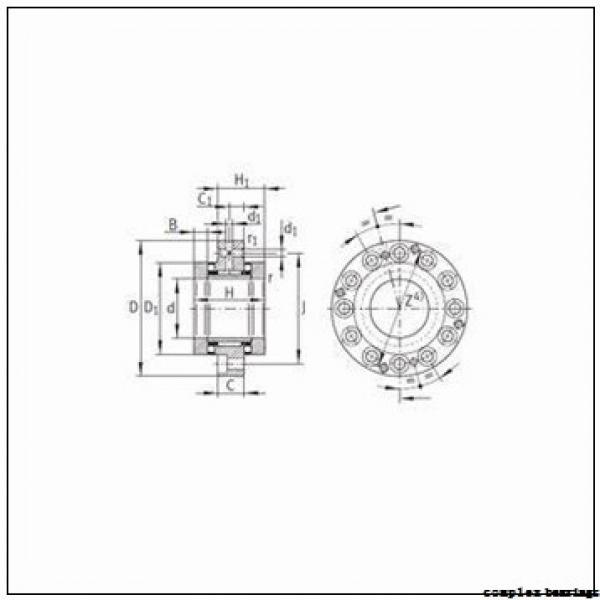 22,000 mm x 39,000 mm x 23,000 mm  NTN NKIA59/22A complex bearings #3 image